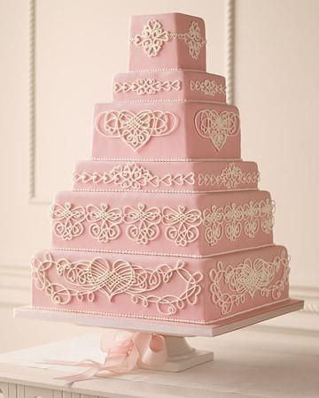 image of Yummy Fondant Wedding Cakes