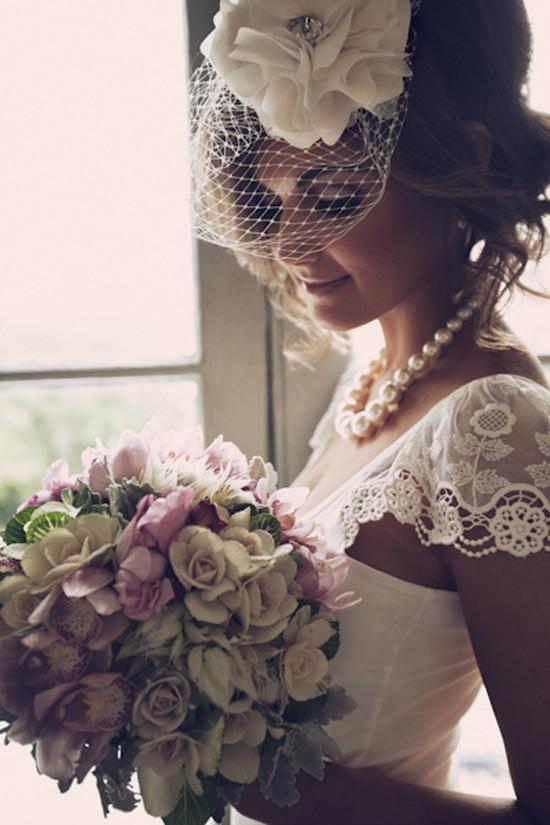 Hochzeit - Vintage Wedding Haarschmuck