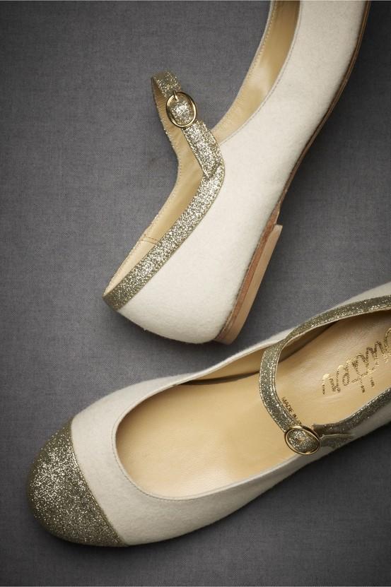 Hochzeit - Vintage Wedding Schuhe ♥ modische und bequeme Brautschuhe