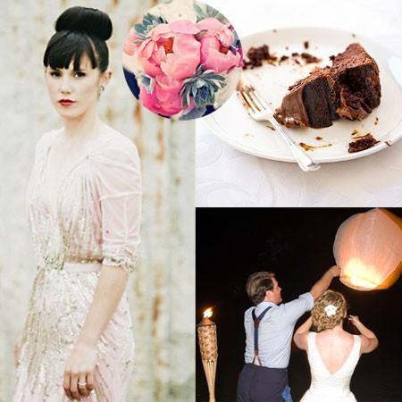 Hochzeit - Retro Wedding Ceremony Ideen
