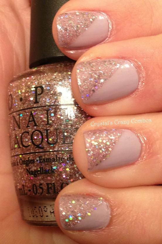 Sparkle And Glitter Wedding - Bridal Nail Designs ♥ Wedding Nail ...