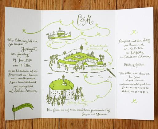 einladungen ideen #802849 - weddbook, Einladung