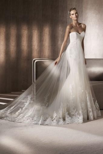 Pronovias - Kleid Inspiration #803020 - Weddbook