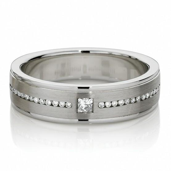 Mariage - Luxry Hommes diamant Bagues ♥ Bagues Hommes de mariage de diamant