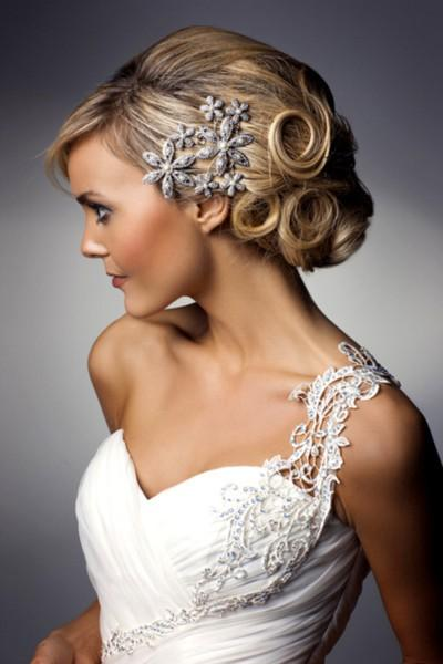 Wedding - Stunning Wedding Updo Hairstyle