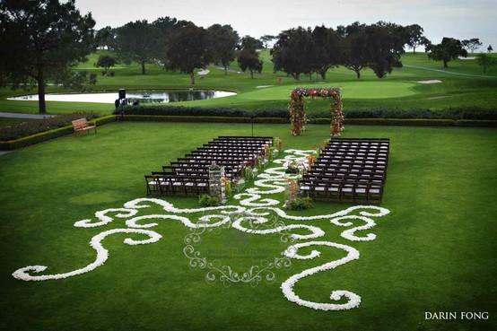 Свадьба - Свадебные Идеи прохода Декор