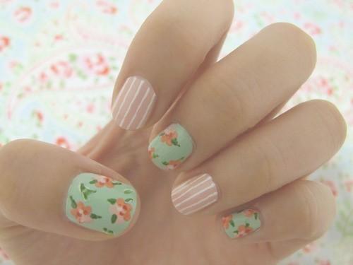 Mariage - Mixte Nail Art Print & Design
