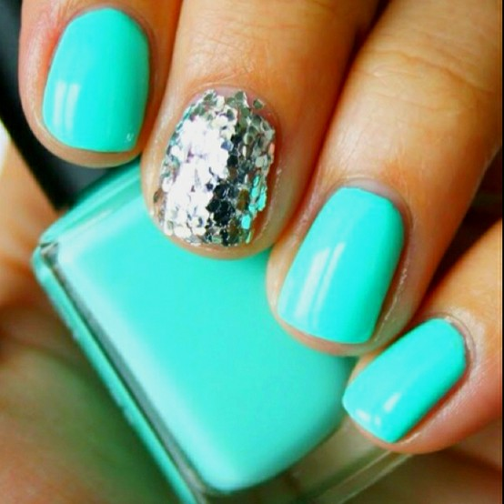 Outstanding Color Turquoise and Silver Nail Designs 554 x 554 · 56 kB · jpeg