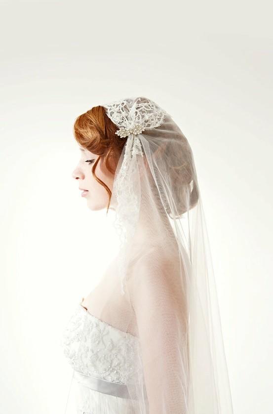 Hochzeit - Unique / Custom Wedding Veil