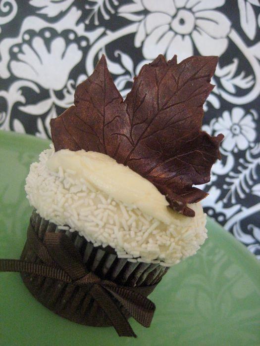 Свадьба - Свадебный Cupcake - Осень Тема