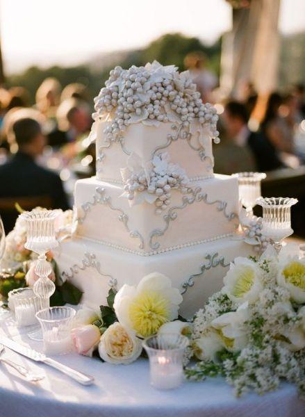 زفاف - كعك الزفاف فندان ♥ تصميم كعكة الزفاف