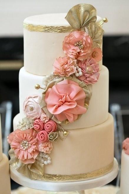 Rivista Cake Design Wedding : Fondant Wedding Cakes   Hochzeitstorte Design #805215 ...