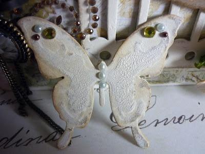 Hochzeit - DIY Butterfly Hochzeiteinladung ♥ Günstige Vintage Wedding Invitation ♥ Scrapbooking