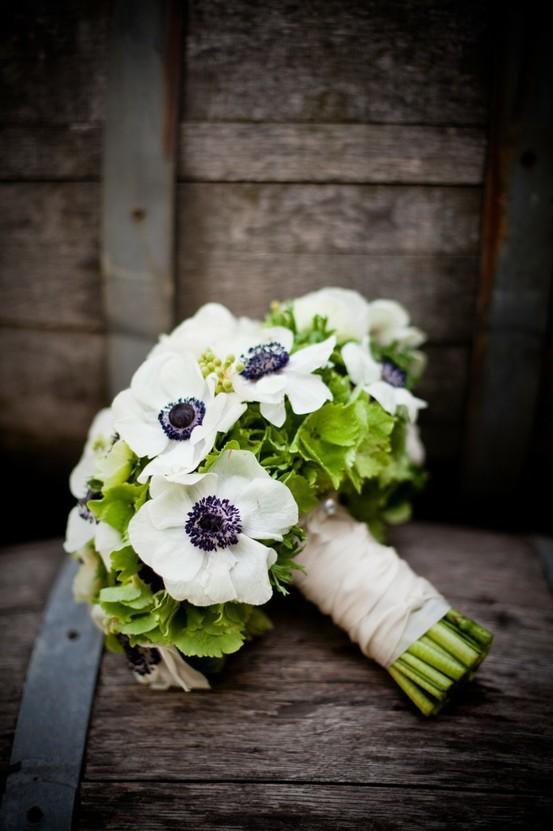 Top Bouquets De Mariage D'hortensias Et Des Fleurs D'anémone #805661  MS97