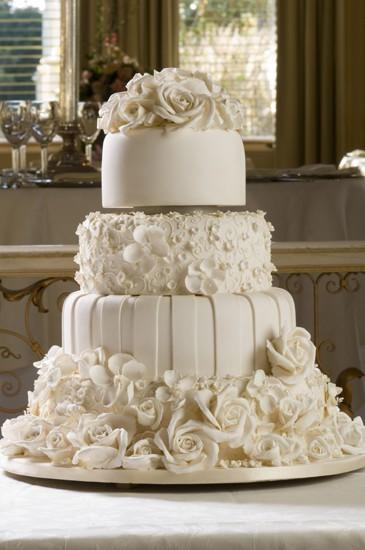Fondant Wedding Cakes Wedding Cake Design 807714 Weddbook
