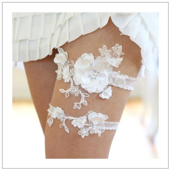 Hochzeit - Chic Hochzeit Strumpfband