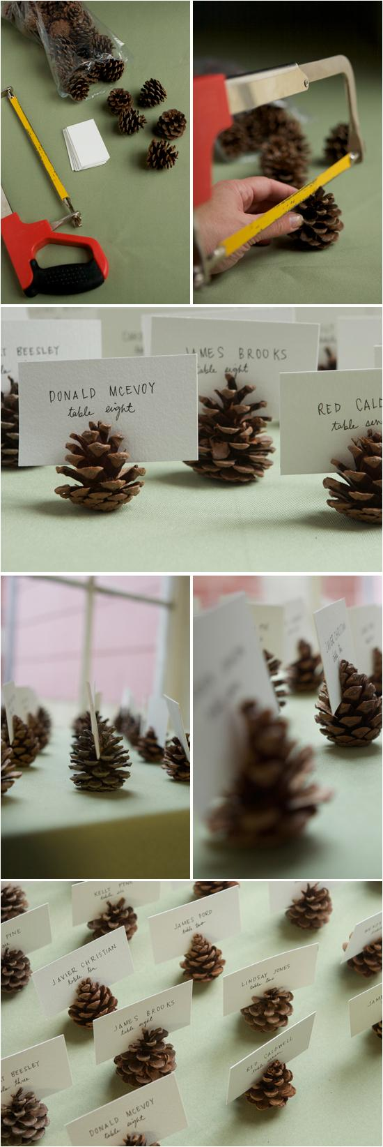 Hochzeit - Unique & Creative Wedding Seating Cards ♥ DIY Tischkarten