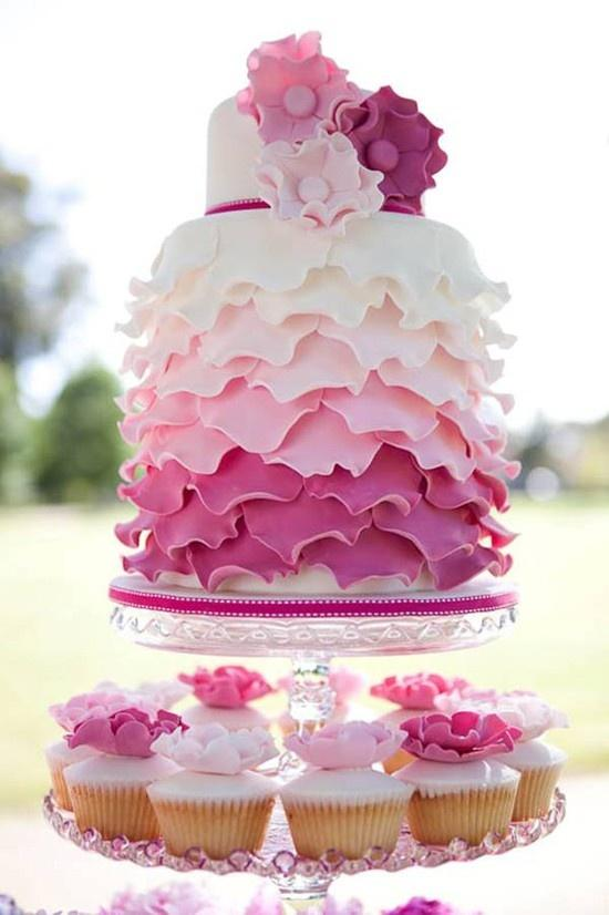Wedding - Chic Petal Wedding Cakes ♥ Wedding Cake Design