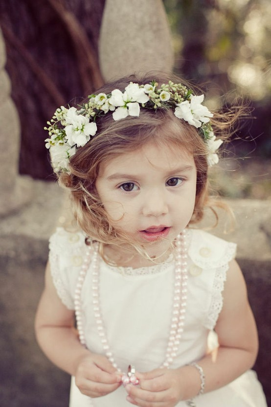 Pictures of flower girl