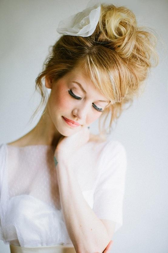 Wedding - Messy Wedding HairStyles ♥ Wedding Messy Updo Hairstyle