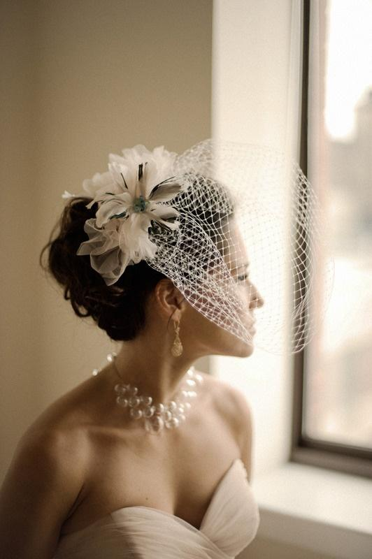 Vintage Wedding Hairstyles With Birdcage Veil | www.imgkid ...