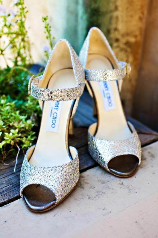 Свадьба - Серебряная свадьба высоких каблуках