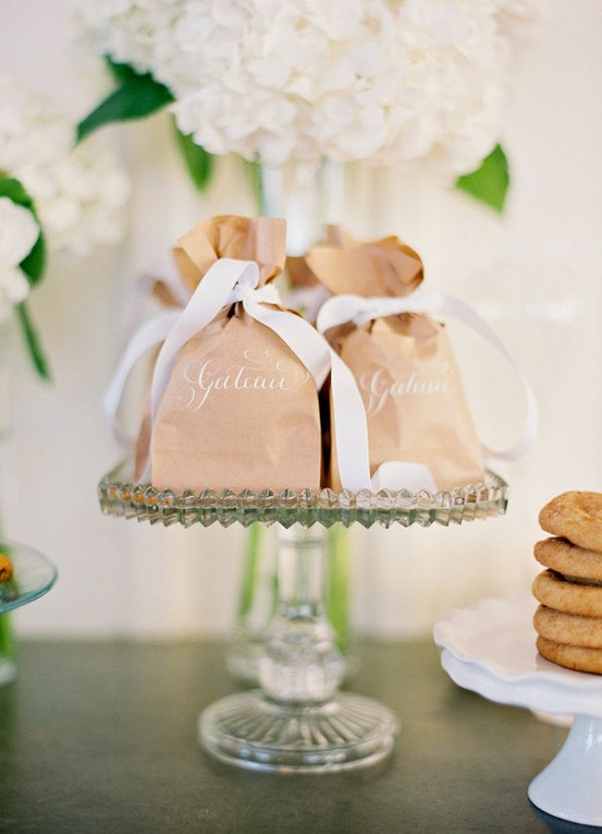 Wedding Favor Bag Ideas : Wedding - DIY Vintage Wedding Favors ? Handmade Vintage Gift Bag