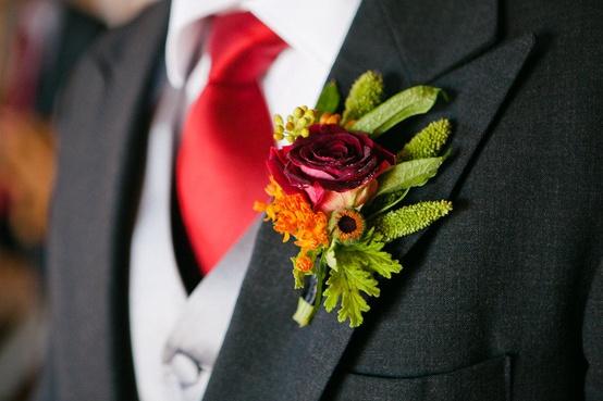 Mariage - Boutonnières pour les garçons