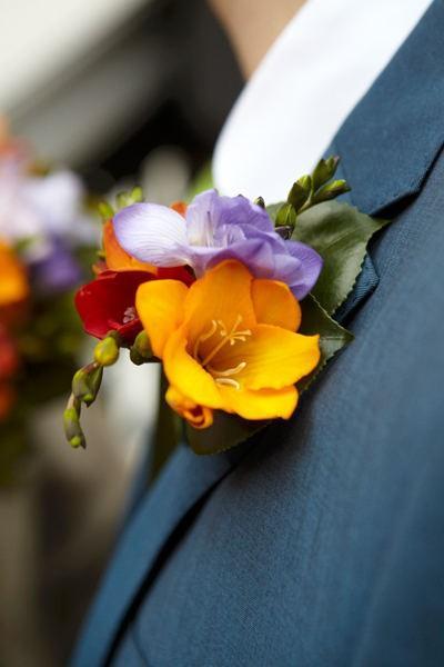 Mariage - Boutonnière pour marié