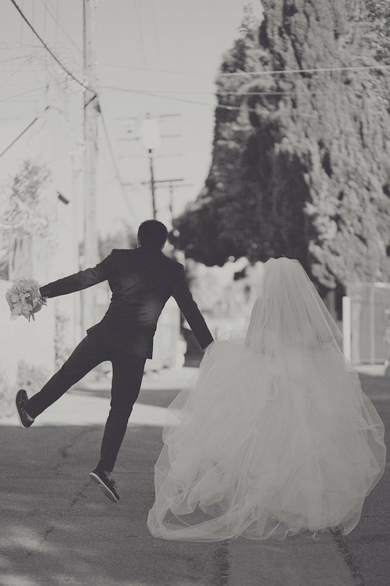 Свадьба - Творческая Свадебная Фотография Идеи ♥ Черно-Белую Свадебную Фотографию, ♥ долго и Счастливо