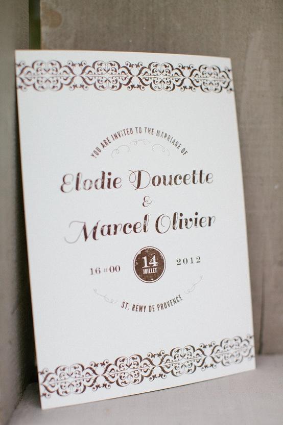 Wedding - Invitations & Stationery