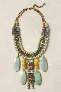 wedding photo -  Icterina Bib Necklace by Lower East Side Designer and Milliner James Coviello.