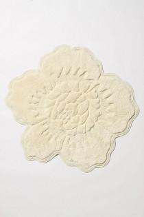 wedding photo - Castile Rose Bathmat - B
