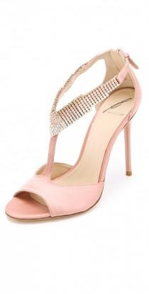 wedding photo - Loreto Crystal Sandals