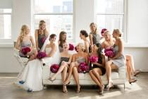 wedding photo - Brautjungfern Kleider ♥ Professionelle Bridesmaids Fotos