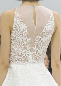 wedding photo - Lace back wedding dress
