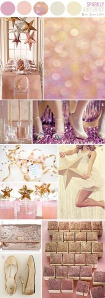wedding photo - Sparkle and Shine Wedding Inspiration ♥ Sparkly Fairytale Wedding Ideas