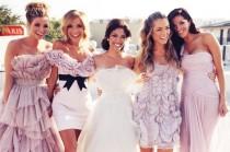 wedding photo - وصيفات الشرف