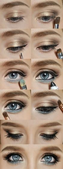 wedding photo - Hochzeits-Make-up-Ideen