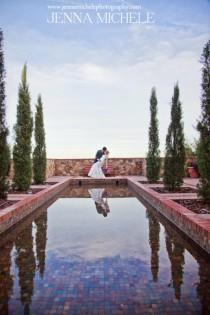 wedding photo - Boda rústica Toscana Bella Collina En Radiant Orchid