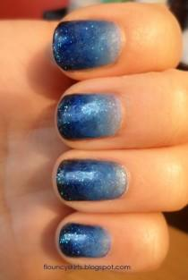 wedding photo - Gradient Manicure How To