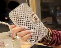 wedding photo - Экстремальные Deluxe Bling Diamante Кожаный Чехол Для Apple, Samsung Galaxy Примечание 3