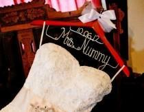 wedding photo - Robe de mariée Hanger personnalisé ... Idéal pour photos
