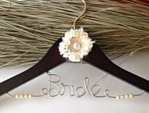 wedding photo - Bridal Accessories-bride hangers