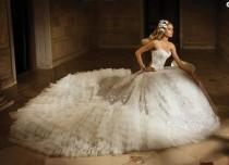 wedding photo - 2014 New White/ivory Wedding Dress Custom Size 2-4-6-8-10-12-14-16-18-20-22