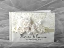 wedding photo - Custom Wedding Guestbook -   Vinatege Guestbook