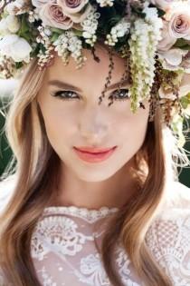 wedding photo - ♡♥Romantic Flower Crowns♥♡
