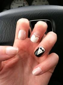 wedding photo - 24 Delightfully Cool Ideas For Wedding Nails