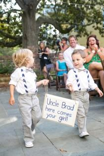 wedding photo - These Ring Bearers Are A Tough Act To Follow