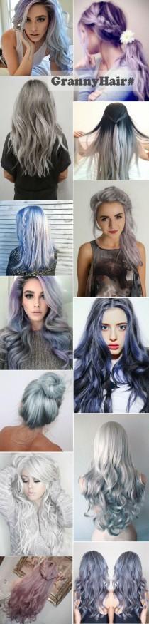 wedding photo - 10 Reasons To Follow The Fabulous Gray Hairstyles -